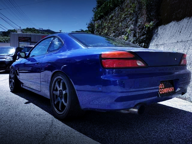 REAR EXTERIOR OF S15 SILVIA SPEC-S.
