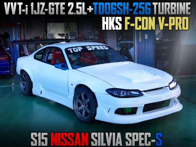 1JZ-GTE SWAP With TD06SH-25G TURBO INTO S15 SILVIA DRIFT CAR.