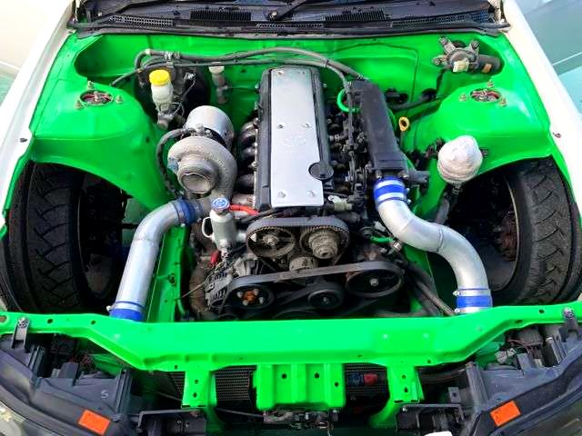 VVTi 1JZ-GTE 2.5-Liter TD06SH-25G TURBO ENGINE.