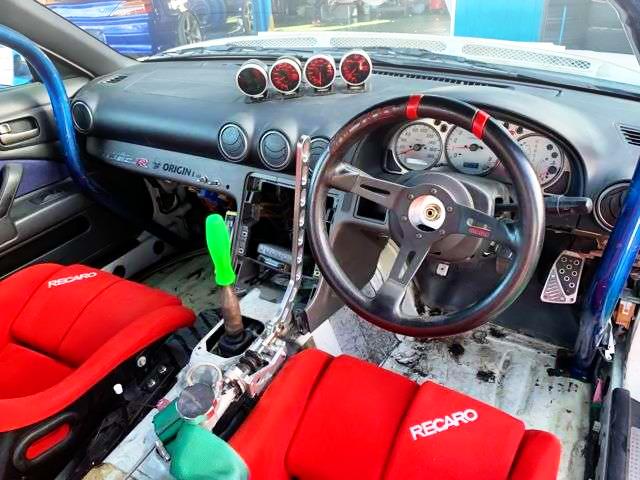 S15 SILVIA DRIFT CUSTOM DASHBOARD.