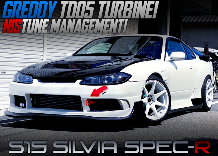 SR20DET With TD05 TURBO And NISTUNE INTO S15 SILVIA SPEC-R WIDEBODY.