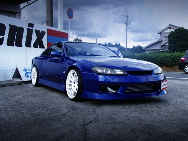 FRONT EXTERIOR OF S15 SILVIA SPEC-R V-PKG TO WIDEBODY.