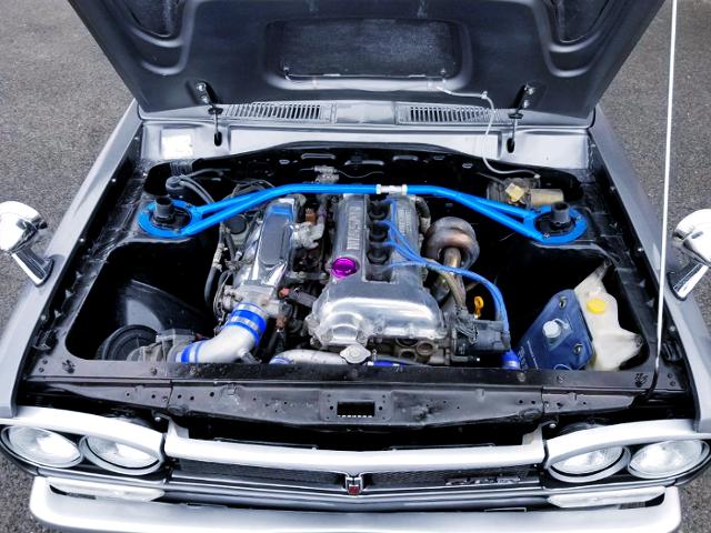 SR20DE NATURALLY ASPIRATED ENGINE.