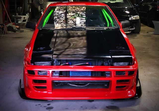FRONT FACE OF AE86 TRUENO