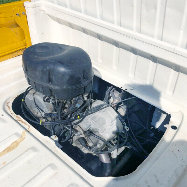 aprilia RSV MILLE 998cc V-TWIN ENGINE.