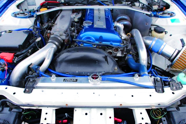 SR20DET TURBO ENGINE With TOMEI M7960 TURBO.
