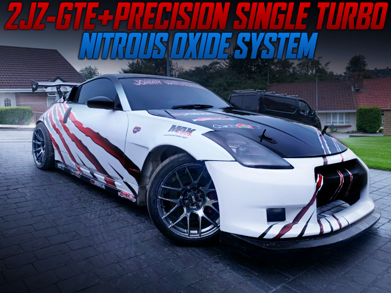 2JZ-GTE SWAP With PRECISION SINGLE TURBO INTO Z33 NISSAN 350Z.