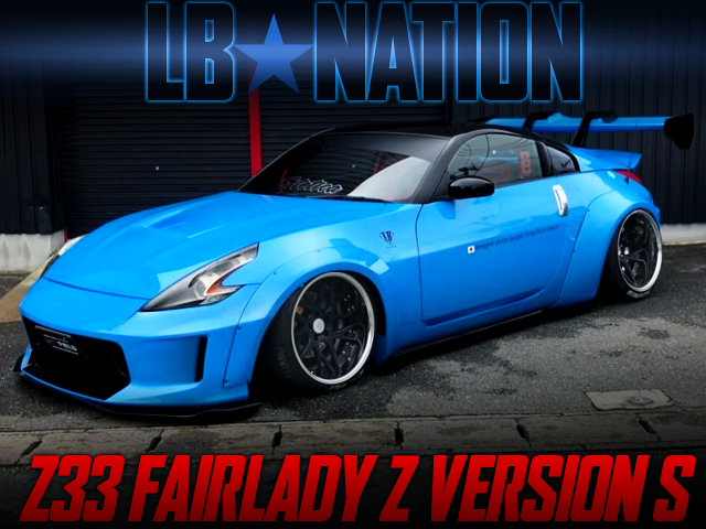 LB-NATIN Z34 FACE TO Z33 FAIRLADY Z Ver S.
