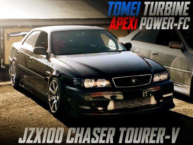 TOMEI TURBOCHARGED JZX100 CHASER TOURER-V.