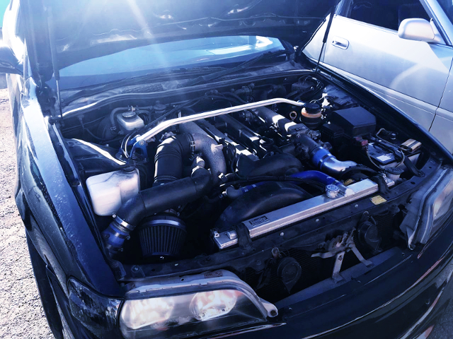 1JZ-GTE With TOMEI TURBOCHARGER.