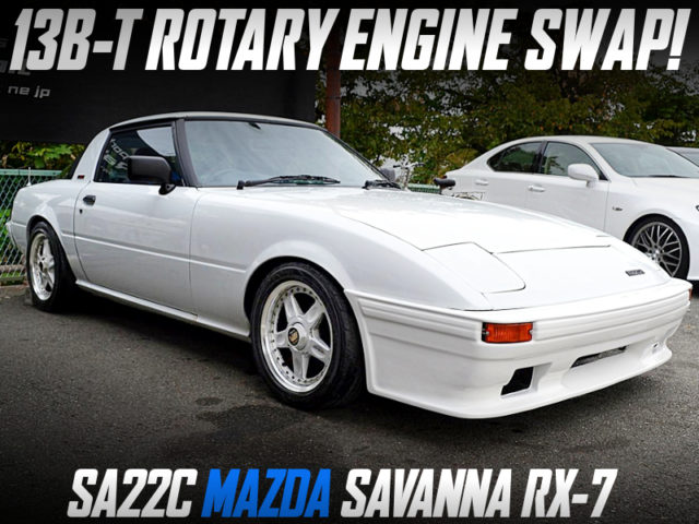 13B-T ROTARY ENGINE SWAPPED SA22C SAVANNA RX-7.