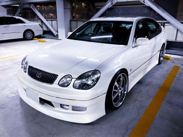 FRONT EXTERIOR OF JZS160 ARISTO.