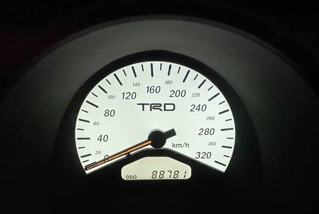 TRD 320km SCALE CLUSTER.