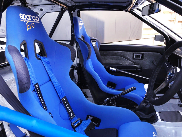 SPARCO FULL BUCKET TWO-SEATER.