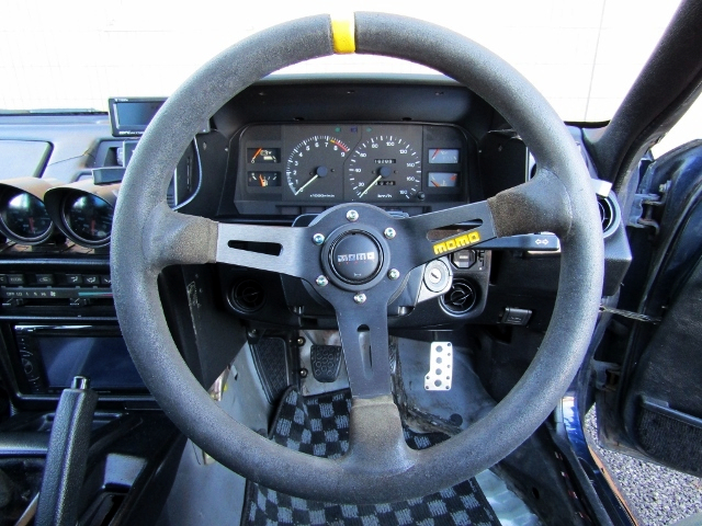 MOMO STEERING AND SPEED CLUSTER.