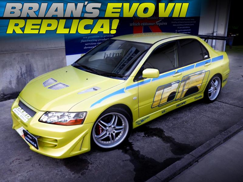BRIAN'S EVO7 REPLICA.