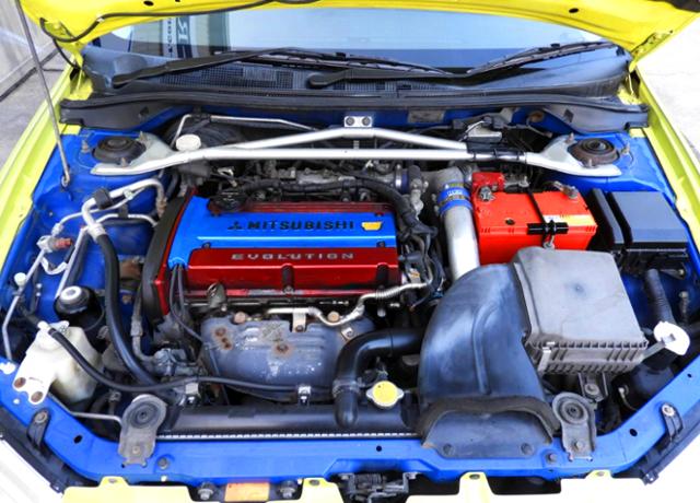 4G63 2-liter TURBO ENGINE.