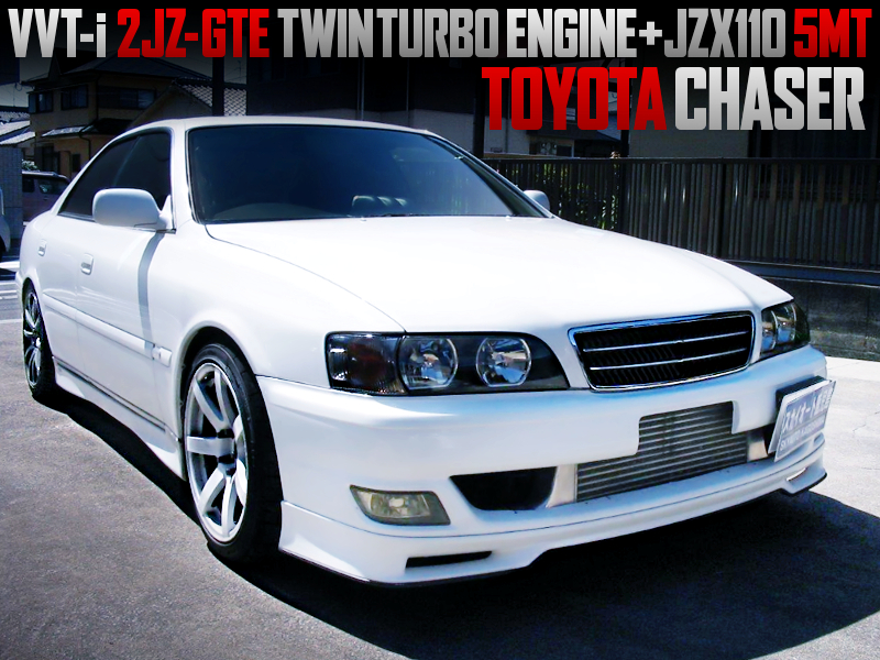 VVT-i 2JZ-GTE TWINTURBO And JZX110 5MT SWAPPED 100 CHASER.