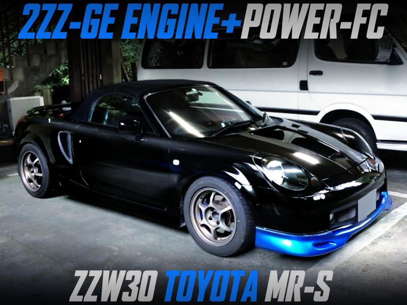 2ZZ-GE ENGINE SWAPPED ZZW30 MR-S.