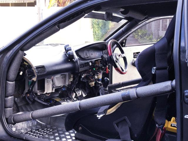 INTERIOR OF AE101 TRUENO GT-Z.