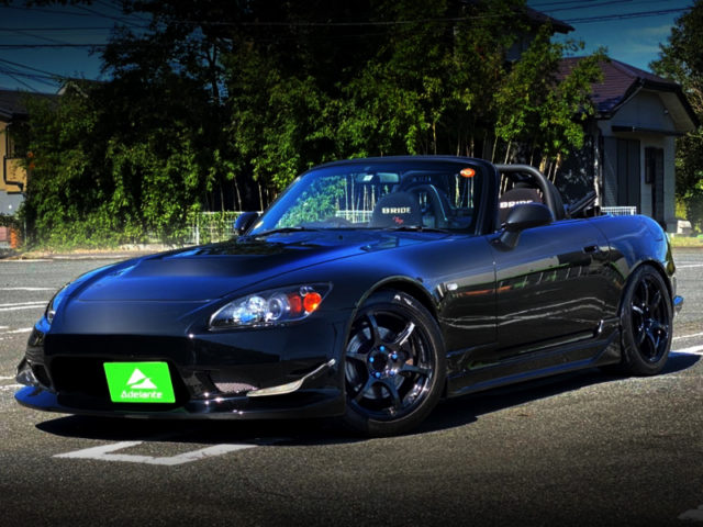 FRONT EXTERIOR OF AP2 S2000 TURBO.