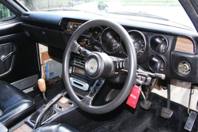 DATSUN COMPETITION STEERING.