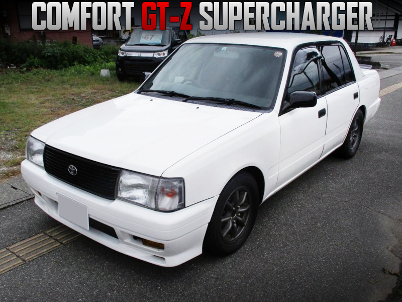 TOYOTA TECHNOCRAFT COMPLETE CAR OF COMFORT GT-Z SUPERCHARGER.
