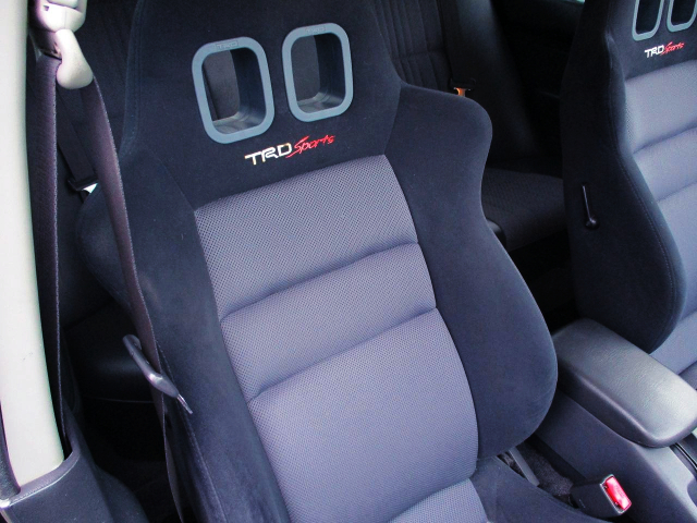 TRD SEMI BUCKET SEATS.