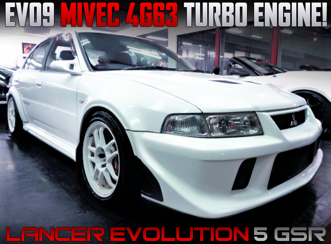 MIVEC 4G63 TURBO ENGINE INTO CP9A EVO5 GSR.