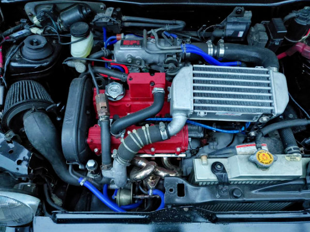 F6A TWINCAM TURBO With HT07 TURBINE.