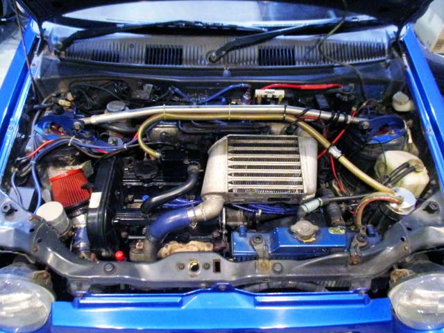 F6A TWINCAM HT07 TURBO ENGINE.
