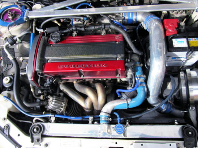 4G63 2.2L GT2835 TURBO ENGINE.