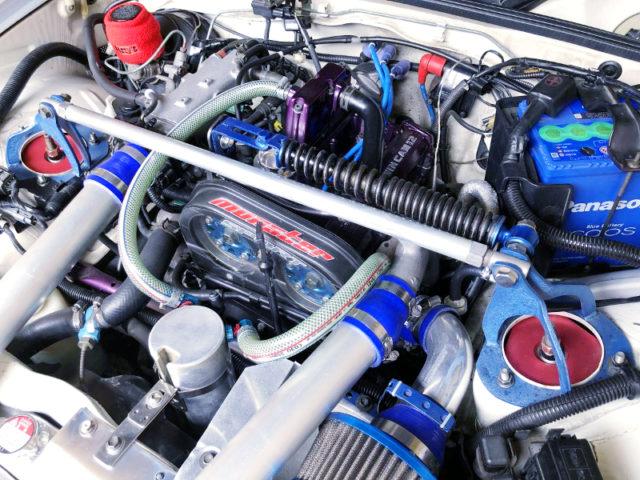 F6A TWINCAM TURBO ENGINE WITH HT07-5KAI TURBINE.