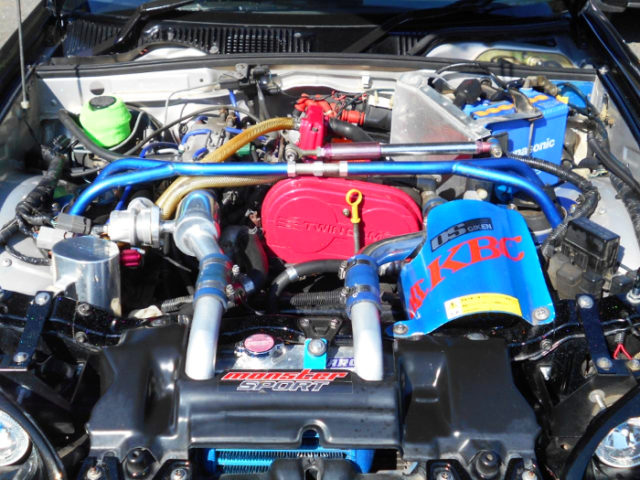 F6A TWINCAM With F100 TURBO KIT.