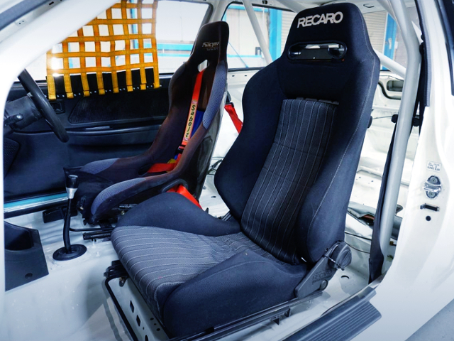 TWO-SEATER MODIFIED EF9 CIVIC SiR2 INTERIOR.