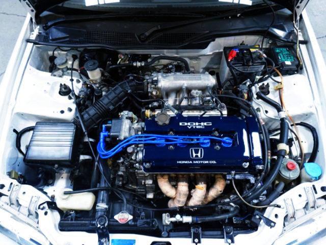 B16 VTEC ENGINE.