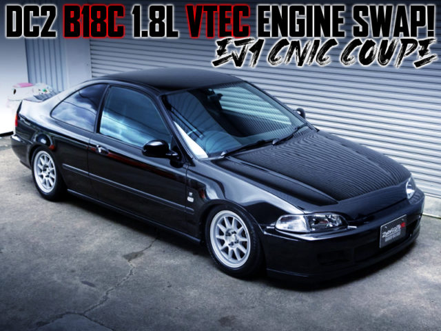 B18C VTEC SWAPPED EJ1 CIVIC COUPE.