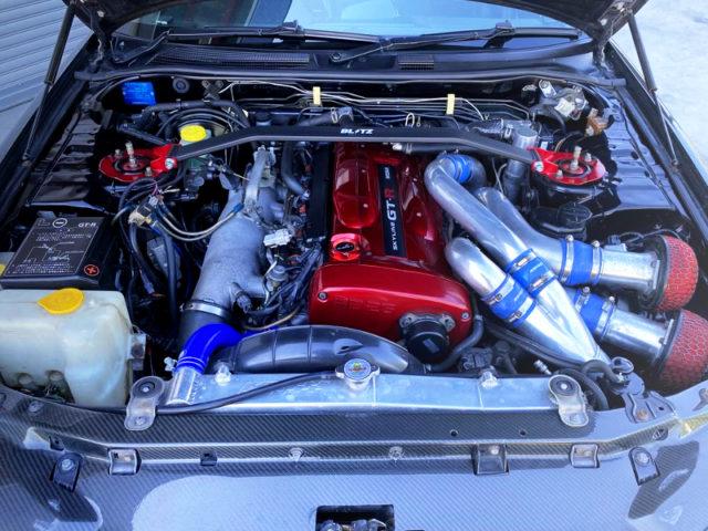 RB26DETT N1 TWINTURBO ENGINE.