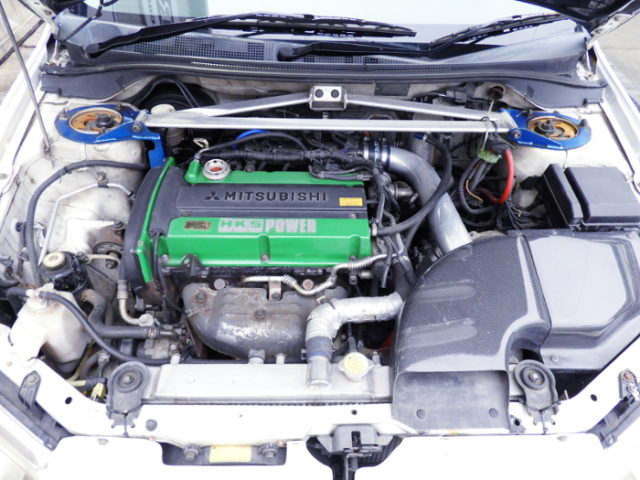 4G63 With 2.2L And HKS GT TURBOCHARGER.