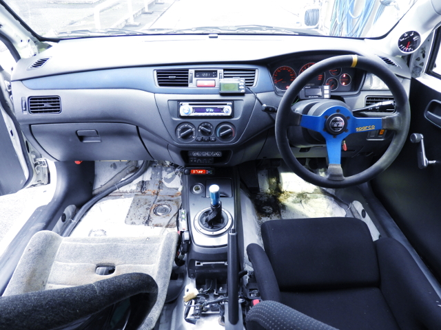 EVO8RS DASHBOARD.