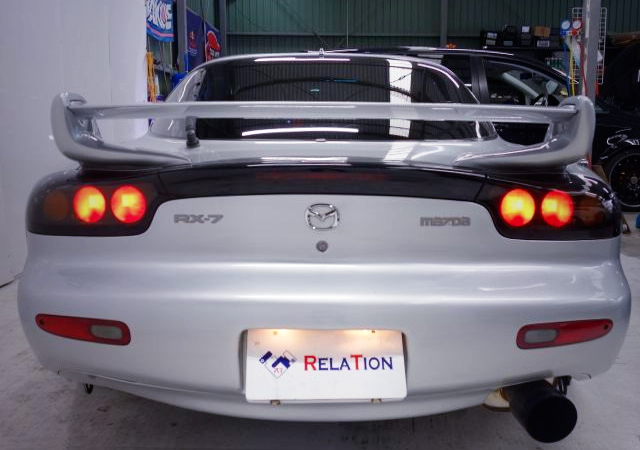 TAIL LIGHT OF FD3S RX-7 TYPE-RS TO SILVER COLOR.