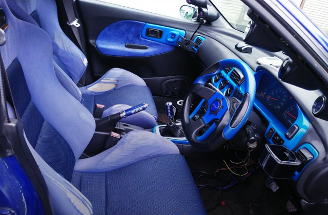 GC8 IMPREZA WRX V-LTD INTERIOR.