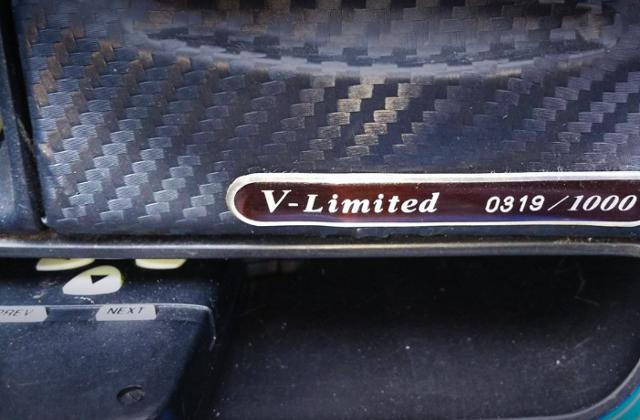 V-LIMITED SERIAL NUMBER.