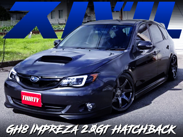STANCE CUSTOM OF GH8 IMPREZA 2.0GT HATCH.