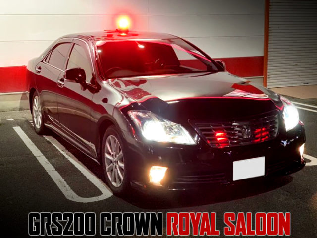 MASKED POLICE CAR REPLICA OF GRS200 CROWN ROYAL SALOON.