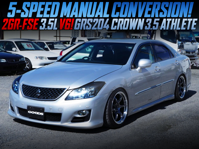 5MT CONVERSION TO GRS204 CROWN 3.5 ATHLETE.