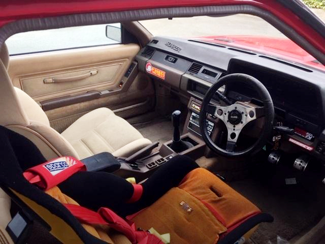 INTERIOR OF GZ10 SOARER.