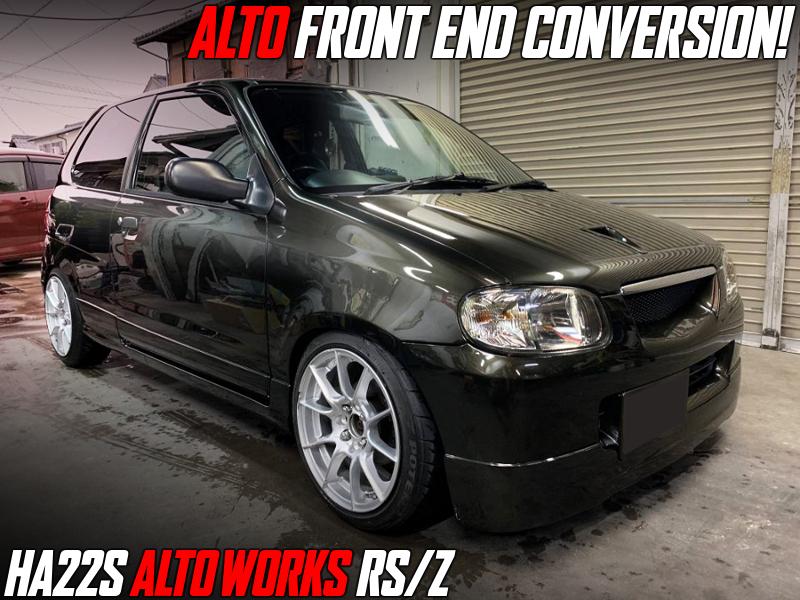 ALTO FRONT END CONVERSION TO HA22S ALTO WORKS RSZ.