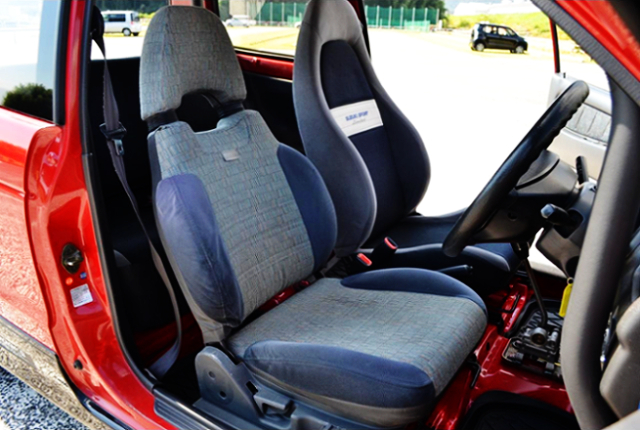 INTERIOR TWO-SEATER.