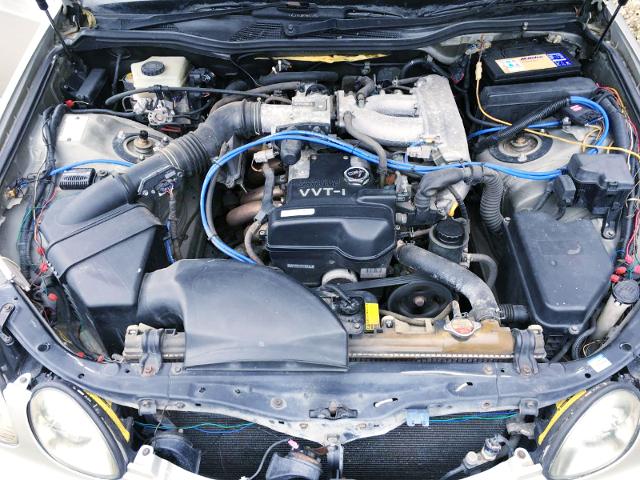 2JZ-GE NATURALLY ASPIRATED ENGINE.